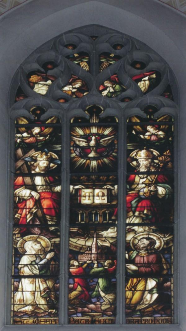 Altarfenster, Mitte