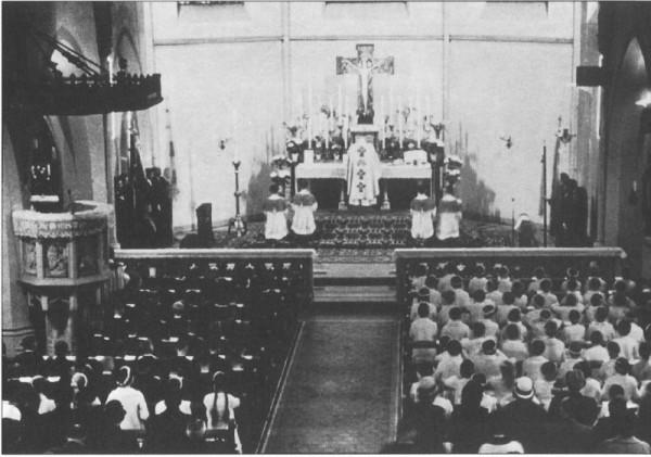 Inneres zwischen 1958 und 1967