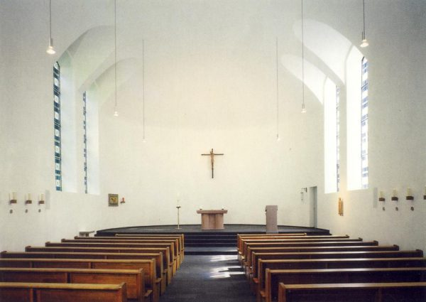 Kirche innen aktuell