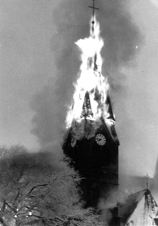 ein-11- 1973-Kirchturmbrand